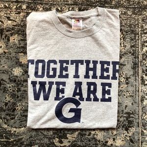 """Georgetown Hoyas 2013 """"Gray Out"""" T-Shirt"""